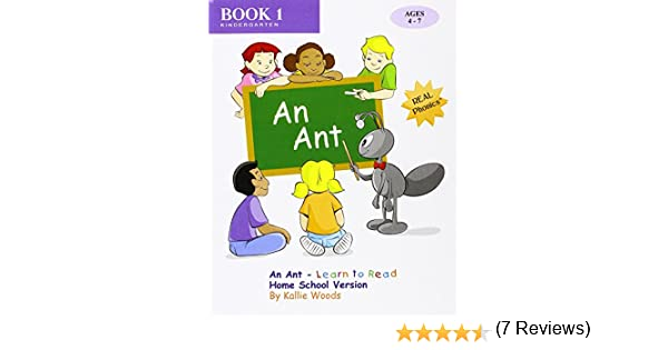 Counting Number worksheets free syllable worksheets : An Ant - Learn to Read, Book 1, Home School Version: By REAL ...