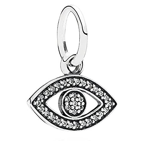 Pandora Symbol Of Insight Evil Eye Charm By Pandora Amazon Co Uk