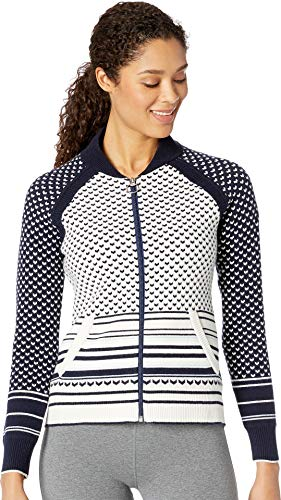 - Obermeyer Women's Belletex Full Zip Sweater Resort at Midnight Medium