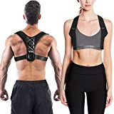 Posture Corrector for Women and Men, Neck Pain Relief, Upright Go , Back Straightener and Posture Brace - Chest Supports, Betterback Shark Tank - Clavicle Support Brace by Lifesoph