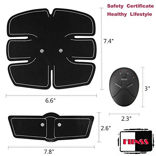 Abdominal Trainers Waist Trimmers Intelligent Fitness Exercise Set Slimming Instrument Belt 3 Host by FIINSS (Image #2)