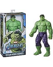Marvel Avengers Titan Hero-reeks Blast Gear Deluxe Hulk-actiefiguur van 30 cm, geïnspireerd op de Marvel-stripboeken, voor kinderen vanaf 4 jaar