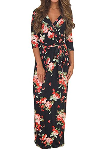 3/4 length dresses - 7