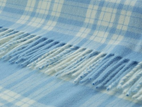 UPC 608912710958, Baby Bronte - Merino Lambswool - Blue Menzies - Throw Blanket