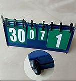 LINLINK Folding box scoreboard Table tennis basketball feather scoreboard Multifunctional scoreboard