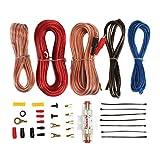 Sound Storm AKS8 8 Gauge Amplifier Installation Wiring Kit