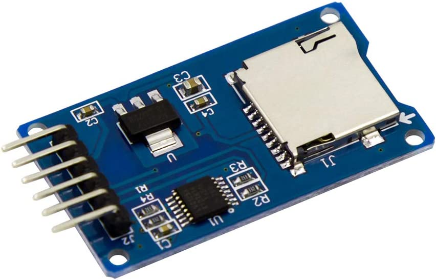 BBOXIM 1PCS Micro SD Card Module Mini TF Card Read and Write 6pin for