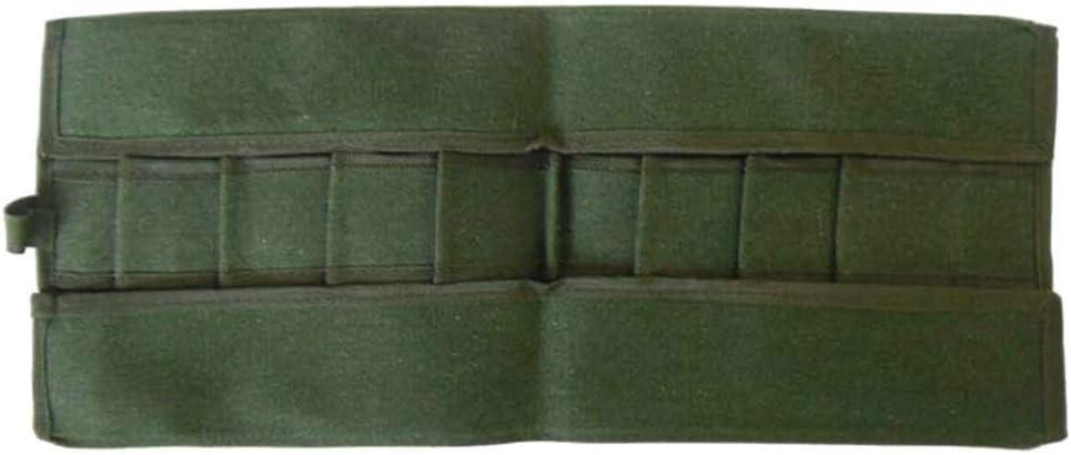 Aojuy Japonés Herramientas Bonsai Almacenaje Pack Bolsa Rollo Lona Herramienta Set Estuche 600x430MM: Amazon.es: Hogar