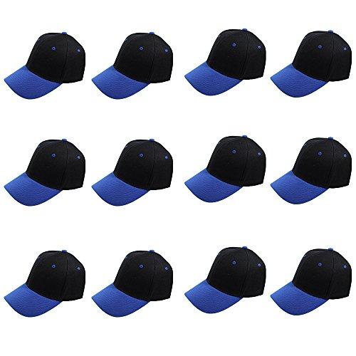 plain blank baseball caps adjustable back strap
