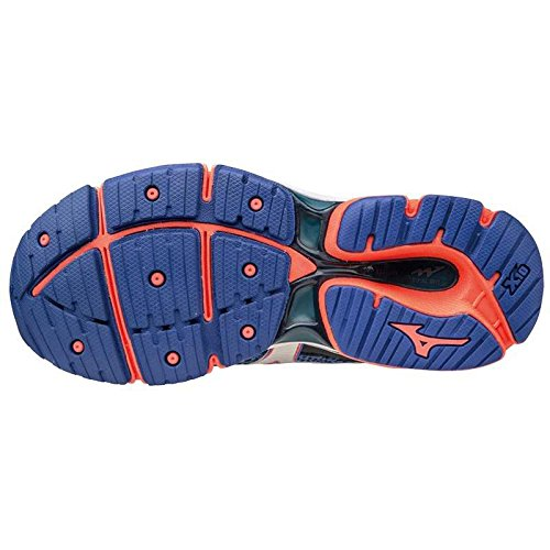 Wos Enigma Mujer Wave Azul deporte Zapatillas de Mizuno pfwAxqWnW