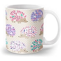Society6 Hedgehog Polkadot Mug 11 oz