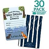 Baby Shower Invitations - 30 cards + envelopes. Gender...