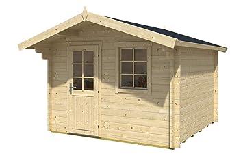 Gartenhaus Fußboden Ja Oder Nein ~ Alpholz blockhaus clara iso gartenhaus mit satteldach