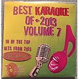 Best Of Karaoke 2013 Volume 7 CD+Graphics CDG 18 Pop & Country Tracks Lady Gaga Katy Perry Passenger Celine Dion Ariane Grande Imagine Dragons One Direction Eminen Rihanna Civil Wars Brad Paisley MORE