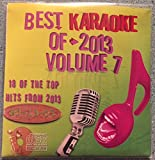 Best Of Karaoke 2013 Volume 7 CD+Graphics CDG 18