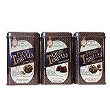 Prestige Confiseur Truffles Assortment, Various Assortment (hazelnut, cocoa dusted, pistachio,3 pk.)