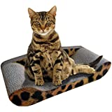 Kitty Sofa Deluxe - The Best Modern Corrugated Cardboard Lounger Bed Cat Scratcher - The Perfect High Quality Scratching Mat - Protect Your Couch By Giving Your Pet Their Own Designer Sofa - 100% Satisfaction Money Back Guarantee