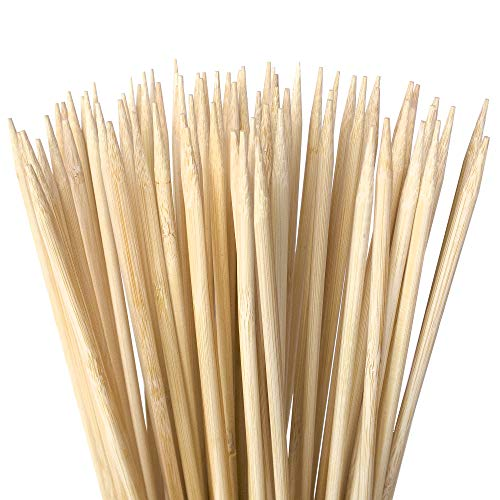 Authentic Bamboo Marshmallow Roasting Sticks, Perfect for S'Mores, Includes 40 Extra Long 30