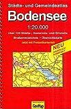 Bodensee 1 : 20 000. Städte- und Gemeindeatlas
