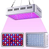Hi-Sdard LED Grow Light 600W, Full Spectrum Grow Light for Indoor Plants with Lens Tech, Veg and Bloom, Daisy Chain, Adjustable Hanger