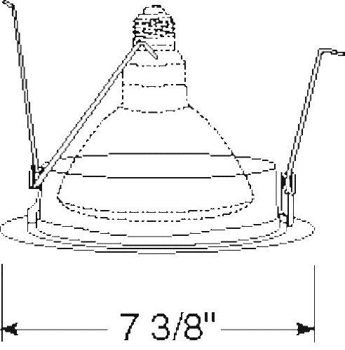 Classic Aged Bronze Juno Lighting Group 242-ABZ UPX109 WH Light