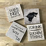 Game of Thrones Coasters - Set of 4
