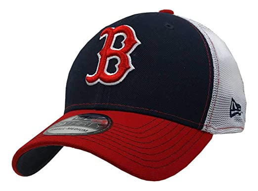 a1369d03c68017 New Era 2019 39Thirty MLB Boston Red Sox Practice Piece Hat Cap Flex Fit (S