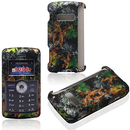 2D Camo Leaves LG enV3 VX-9200 Verizon Case Cover Hard Phone Case Snap-on Cover Rubberized Touch Faceplates