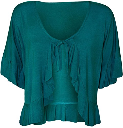 Nauvelle - Gilet - Femme Taille Unique -  turquoise - Taille Unique