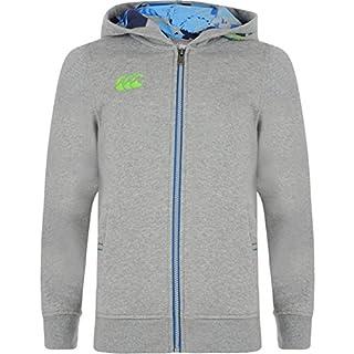Uglies Pequeño logotipo Full sudadera con capucha y cremallera–Boys–Classic Marl gris gris 10 años