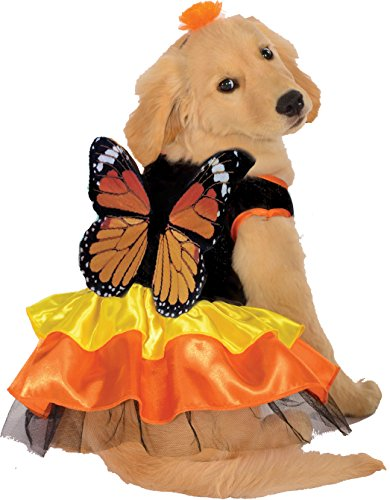 Rubie's Pet Costume, Medium, Monarch Butterfly -