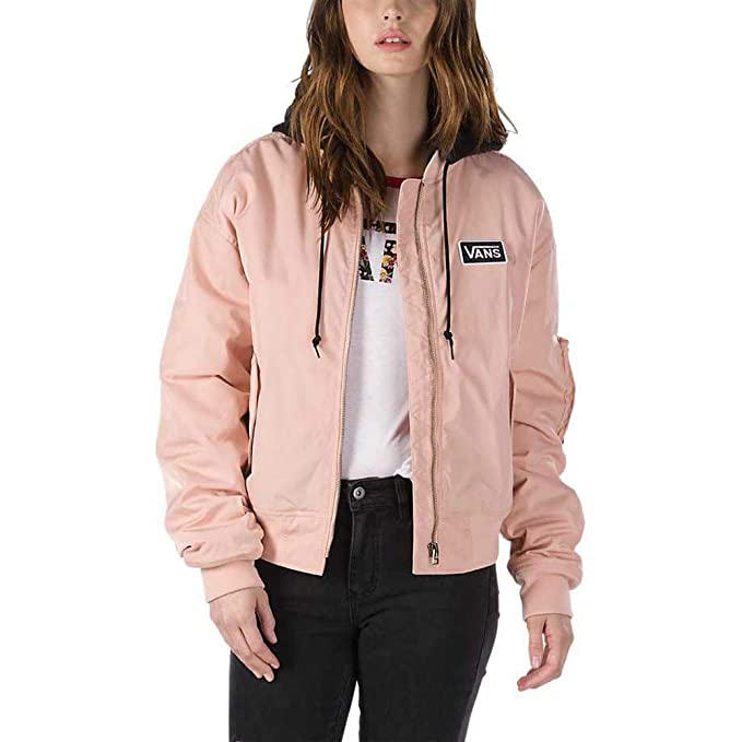 Vans Cazadora Boom Boom con Capucha Rose Cloud (M): Amazon ...