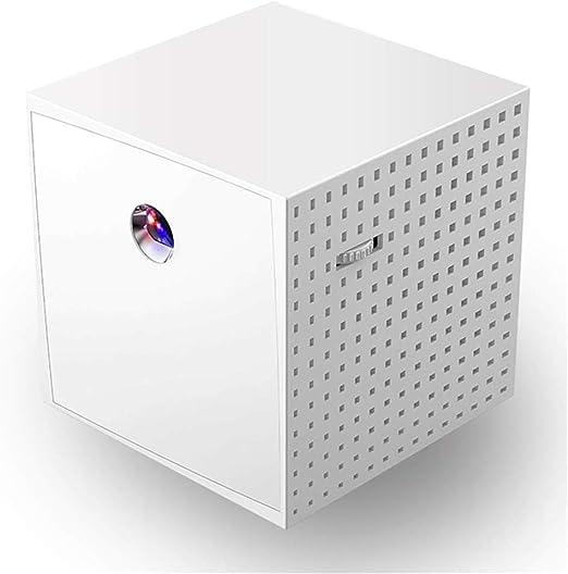 DBGS Mini proyector portátil, Hogar Proyector Video con el Altavoz ...
