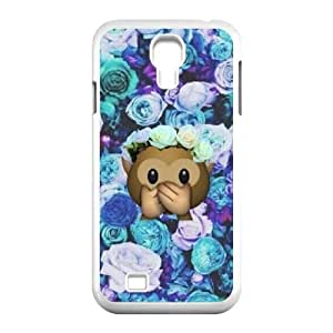 Chinese Cute Monkey Customized Phone Case for SamSung Galaxy S4 I9500,diy Chinese Cute Monkey Case
