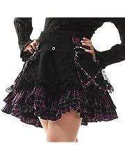 Lolita Charm Women's Punk Lolita Nana Skirt