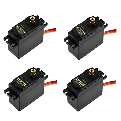 - RioRand 4 Sets MG995 Metal Gear High Speed Torque Servo RC Parts