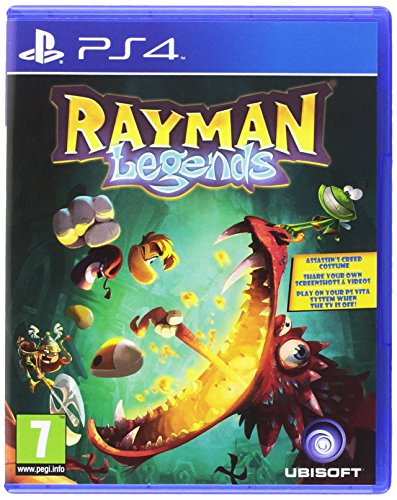 Rayman Legends (PS4) (Spelunky Game)