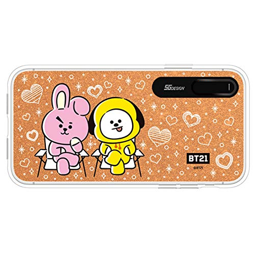 huge selection of a3f59 324c3 iPhone XR Case, BTS BT21 Official Light Up Phone Case-Hang Out (Cooky &  CHIMMY)