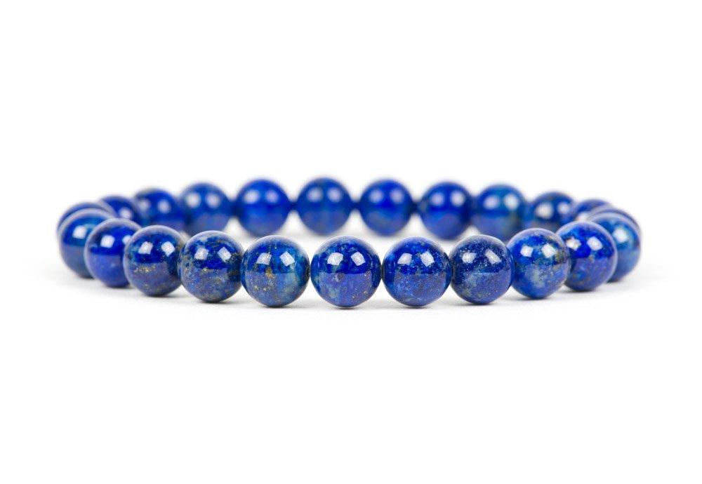 chic gift blue and green gemstone bracelet chips freeform boho beaded bracelet Natural lapis lazuli malachite bracelet stacking bracelet