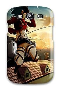 For Galaxy S3 Premium Tpu Case Cover Attack On Titan Protective Case