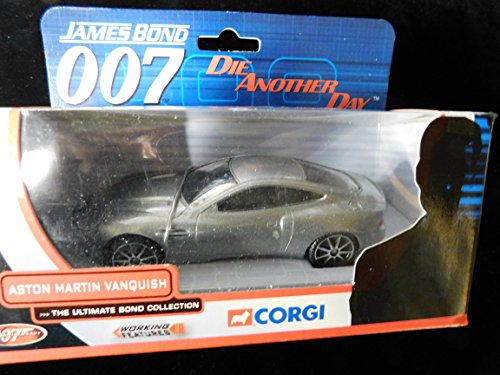 Aston Martin Vanquish James Bond Die Another Day The Ultimate Bond Collection 1:36 Scale Die-cast by Corgi