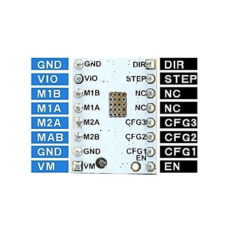 TOOGOO 1 conjunto de TMC2100 V1.3 Controlador mudo de Motores paso ...