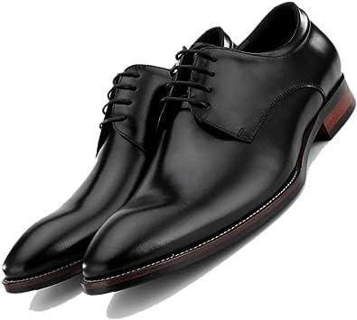 Zapatos De Boda Fiesta De Trabajo Derby Puntiagudos Zapatos