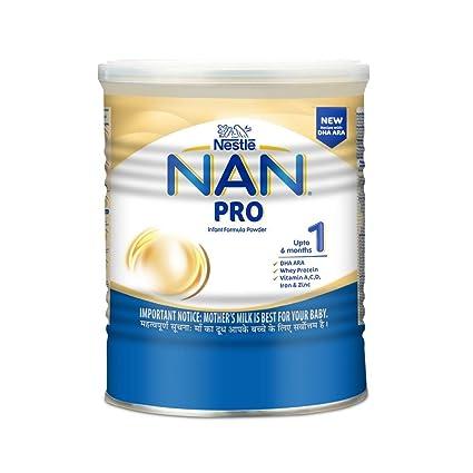 Nestle Nan Pro 1 Starter Infant Formula with Probiotics, Upto 6 months, 400g
