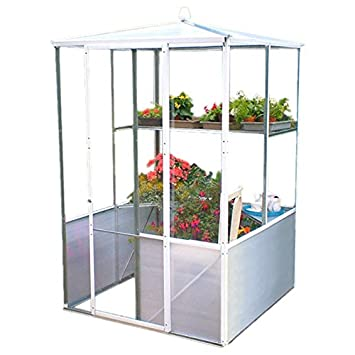 Incroyable Low Cost DIY Compact Patio House Growhouse Greenhouse