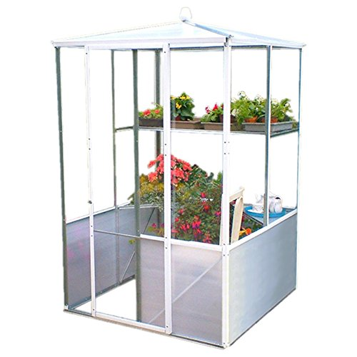 Low Cost DIY Compact Patio House Growhouse Greenhouse