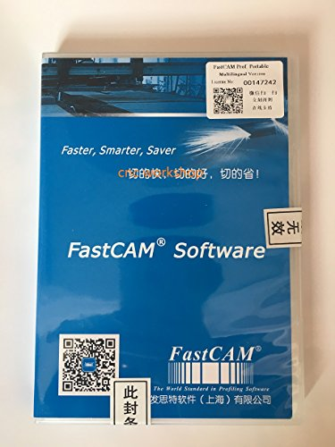 FASTCAM Genuine Nesting Software Professional Version CNC Plasma Cutter Portable Version