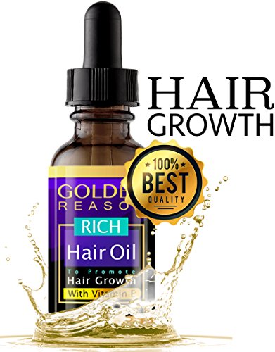 Hair Growth Serum. Premium Anti Hair Loss. This Advanced Hair Oil is an Anti Dandruff and Hair Moisturizer With Vitamin E and Sexy Smell. Made in USA.