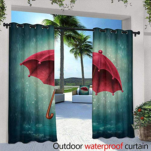 - Lightly Balcony Curtains,Cardinal Bird Wallpaper Desktop,W84 x L96 Outdoor Patio Curtains Waterproof with Grommets
