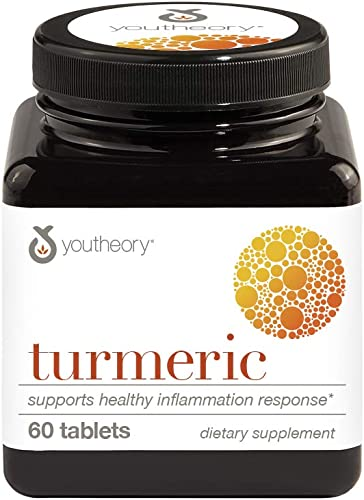 Youtheory Turmeric Advanced with Black Pepper bioperine 60 1 Bottle